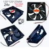 2P 30DB 120*120*25MM 0.25A 2800+10%RPM New 24V 12V High Speed 12025 12CM Cm Computer Case Power Inverter Industrial Radiator Fan