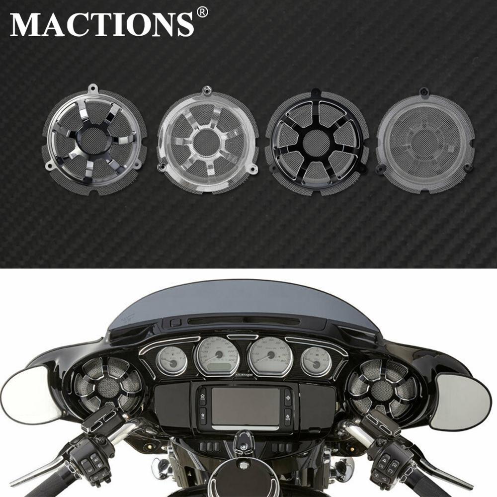 For Harley Touring FLHT FLHX Tri Glide 14-18 Inner Fairing Speaker Cover New