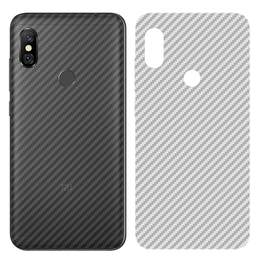 Carbon Fiber Back Screen Protector Film For Xiaomi Mi 9T 9 A3 CC9e CC9 Poco Pocophone f1 Redmi K20 Note 8 7 6 5 Pro Sticker Film