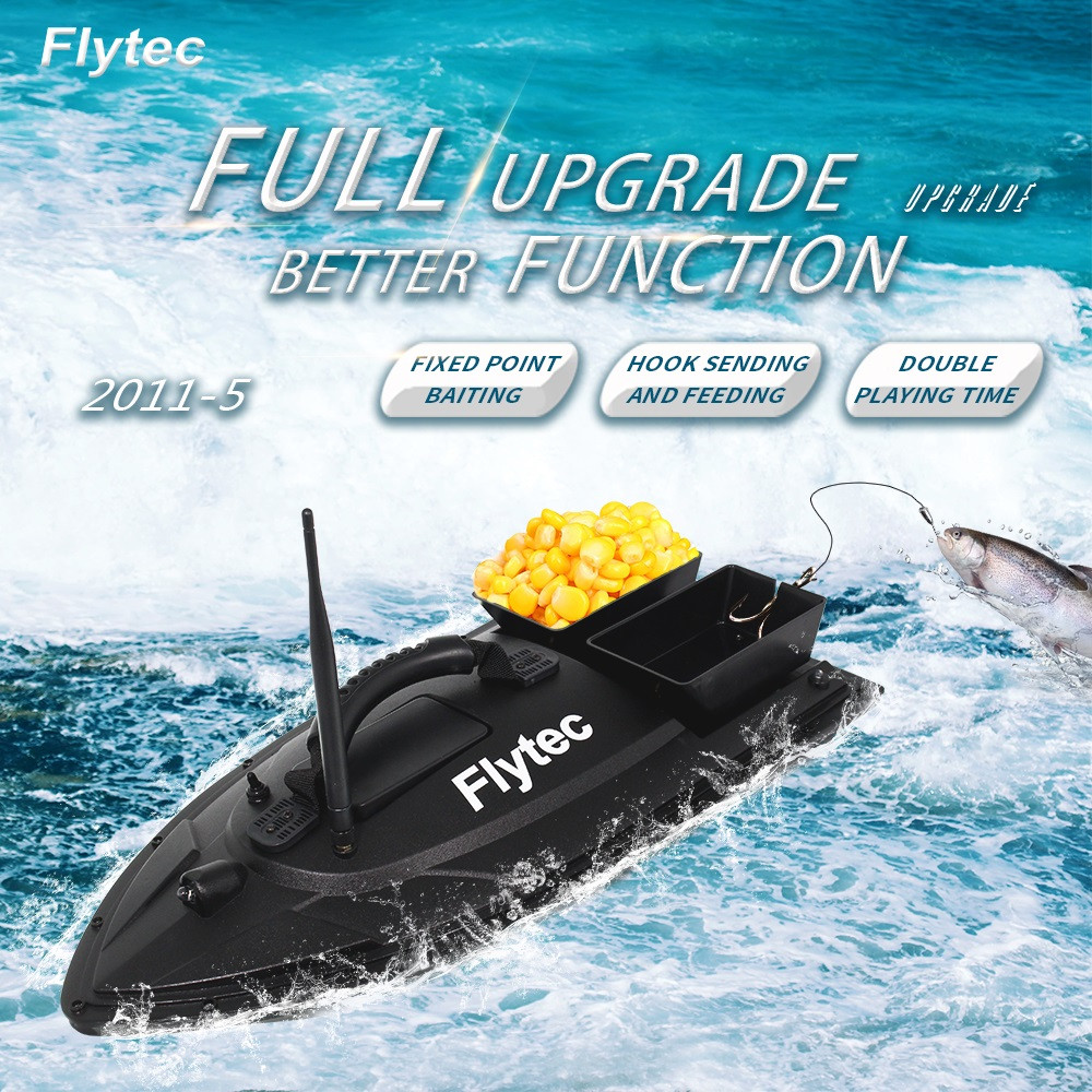 Fish Finder 1.5kg Loading 500m Remote Control Fishing Bait Boat Rc Boat Abs Engineering Material Double Motor Large Load Toy
