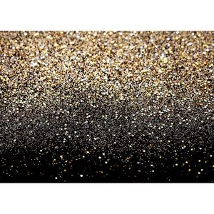 Image 2 - Golden Gradient Sand Glitter Christmas Photo Backgrounds Prom Photography Backdrops for Children Baby Family Party Photobooth
