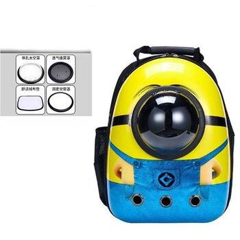 14 colors New Capsule Pet Bag Backpack Breathable Space Pet Backpack Sac De Transport Pour Chat Waterproof Traveler Knapsack - Color 19