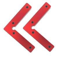1pcs 90 Posicionamento Grau Quadrados Quadrado Ângulo Direito de Fixação de Plástico Braçadeira de Madeira Conjunto de Ferramentas De Carpinteiro|Transferidores| |  -