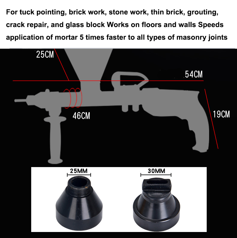 Hot Sale Electric Mortar Grouting Pointing Gun Portable Cement Filling Omg V Fit For Glue Mending Leakage Cement Grouting Aliexpress