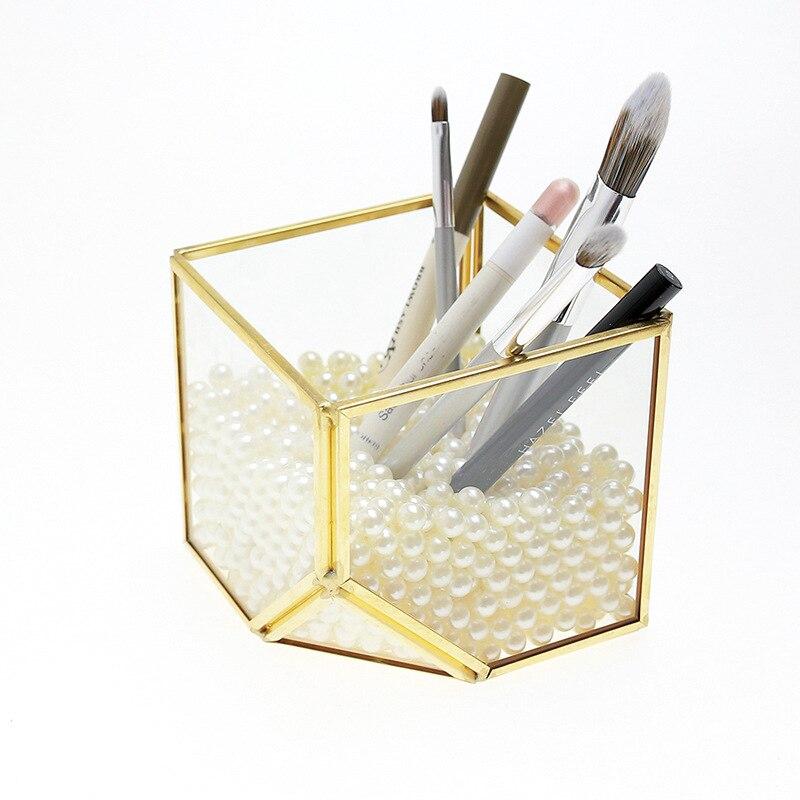 Cube verre serre rétro petit préservé fleur fraîche verre couvercle boîte succulente pot de fleurs conteneur fabricants vente directe