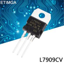 10 sztuk partia L7909CV TO220 L7909 do-220 7909 LM7909 MC7909 nowy regulator napięcia IC tanie tanio CN (pochodzenie) Tranzystor triodowy Przez otwór
