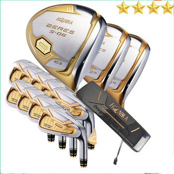 4 star golf club HONMA S-06 golf club + fairway wood + iron + putter set free shipping boy s club