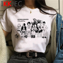 Kawaii My Hero Academia Graphic T-shirt Women Bakugou Boku No Hero Academia Cute Tshirt Harajuku Anime Tshirt 90s Top Tee Female