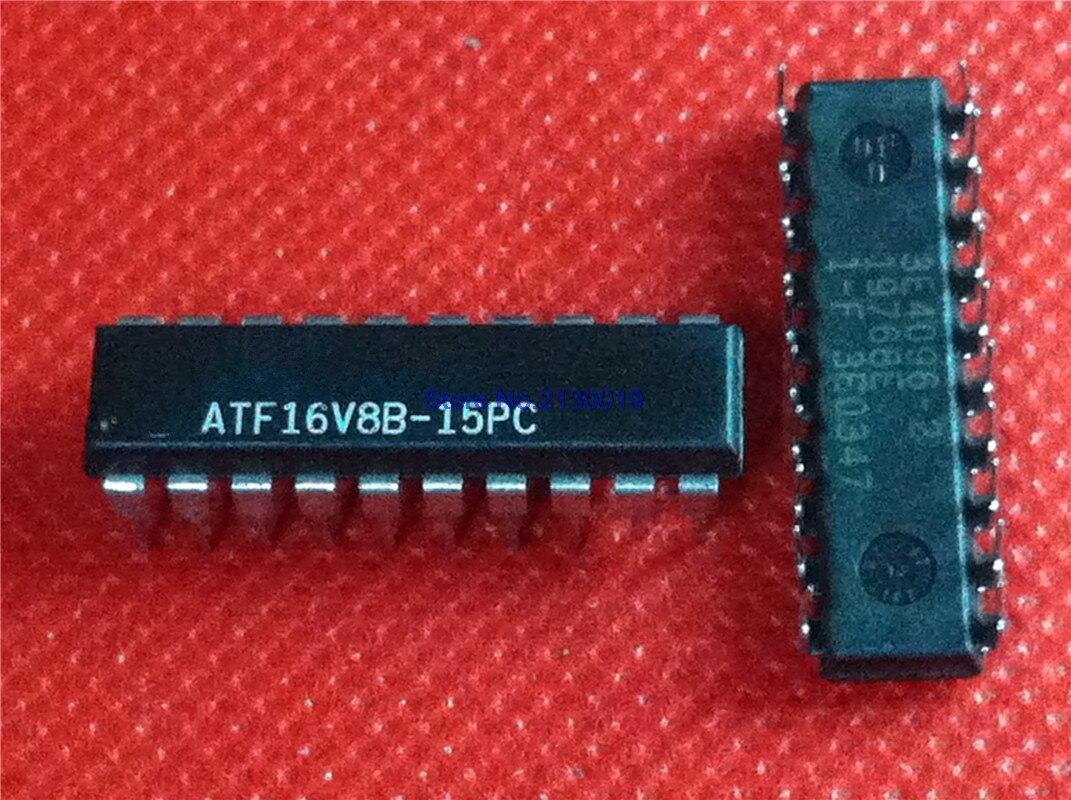 10pcs/lot ATF16V8B-15PC ATF16V8C-15PC ATF16V8B ATF16V8 16V8 DIP-20 In Stock