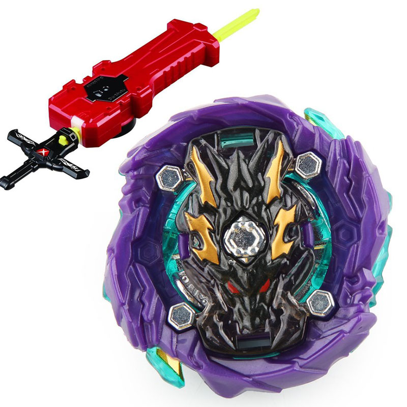 Bey Blade Blade Battle Top All Models Launchers Bayblade <font><b>Burst</b></font> GT Toys Arena Metal God Fafnir With Launcher Blayblade Bay blade image