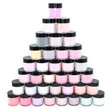 115Bottles/Set Dipping Nail Powder Sparkly Nail Glitter Dust Natural Dry Dip Nail Chrome Bulk Longer lasting Decoration Kit Tc48