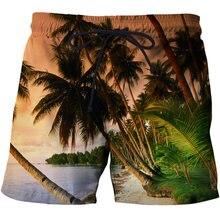 Модные мужские пляжные брюки быстросохнущие шорты размера плюс