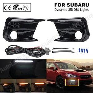 Image 1 - Daytime Running Dynamic Light DRL LED for Subaru WRX 2018~ LED Turn Signal Side Indicator