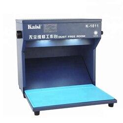 デスクトップのダスト作業室 295 × 205 ミリメートル作業ルームダストワークベンチ電話の液晶改修洗浄装置