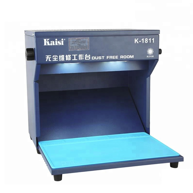 Desktop Dust Free Working Room 295X205mm Working Room Anti Dust Workbench for Phone LCD Refurbish Cleaning Equipment