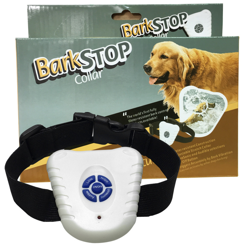 Pet Ultrasound Stoppers Environment-Friendly Dog Trainer Dog Collar Export