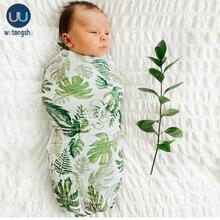 モスリンベビー毛布swaddles新生児写真撮影アクセサリーソフトおくるみラップ有機コットンベビー寝具バスタオルおくるみ