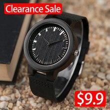 Promotion Sale BOBOBIRD Wood Watches Men Women Quartz Wristw