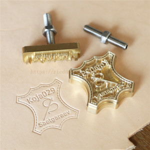 Leather craft foil stamping br