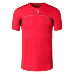 Image 4 - jeansian Mens Sport Tee Shirt Tshirt T Shirt Tops Running Gym Fitness Workout Football Short Sleeve Dry Fit LSL1050 Black