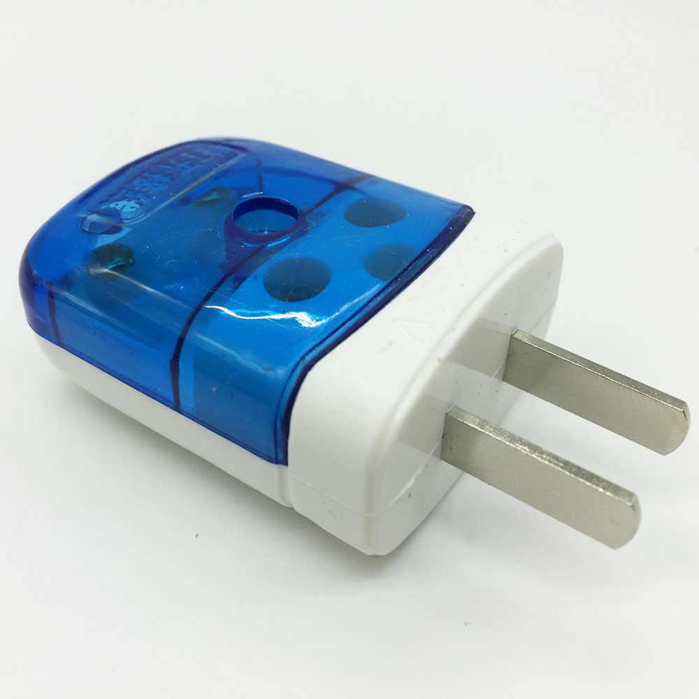 1.4 pièces en cuivre épais prise Dipole alimentation bipolaire insérée juste prise fixe haute puissance deux prises