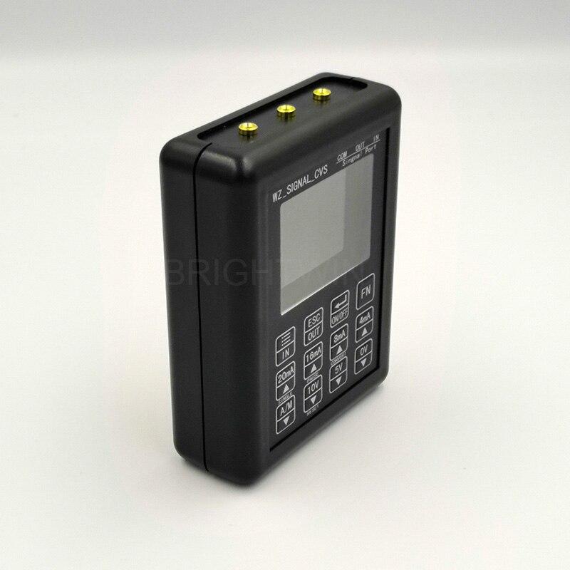 Image 5 - Precisión 4 20mA 0 10V generador de señal control de proceso calibrador de señal fuente constante 0 20mA simulador-in Generadores de señal from Herramientas on AliExpress