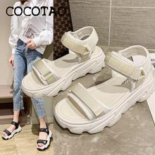 Sandals Women 2020 New Summer Fashion Comfortable Wild Muffin Old Shoes Thick Bottom Beach Womens
