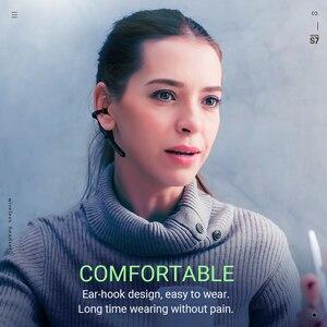 Image 4 - Hoco bezprzewodowy zestaw słuchawkowy z redukcją szumów zestaw głośnomówiący douszne z mic dla jazdy haczyk projekt dla iPhone Huawei Xiaomi earbud