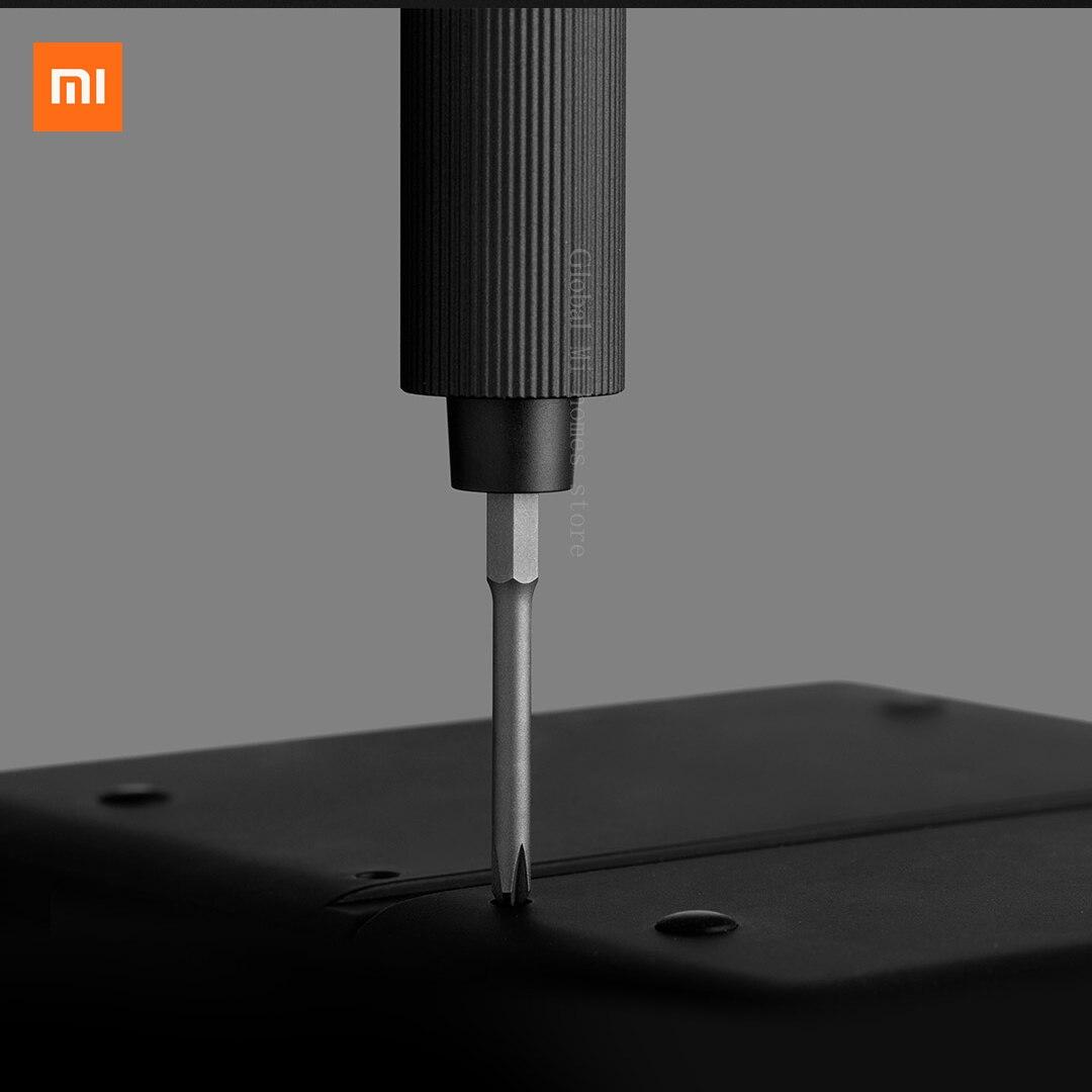 2 Gear Control Hot C Magnetic Mijia Type Case Aluminum 400 Xiaomi Electric Rechargeable Screw Precision Torque 1 Screwdriver Kit