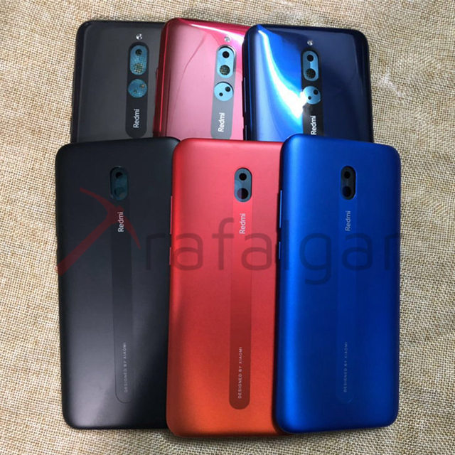 Funda trasera para Xiaomi Redmi 8 8A, carcasa trasera para Redmi 8, reemplazo para teléfono móvil