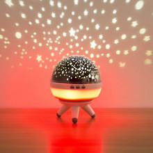 LED Rotating Night Light Projector Starry Sky Star Master Children Kids Sleep Romantic LED USB Projector Lamp Gifts Bedroom Lamp