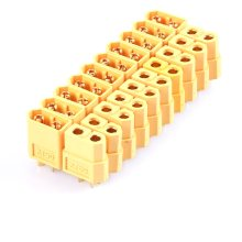 10pcs XT60 XT-60 Male Female Bullet Connectors Plugs For RC Lipo Battery(China)