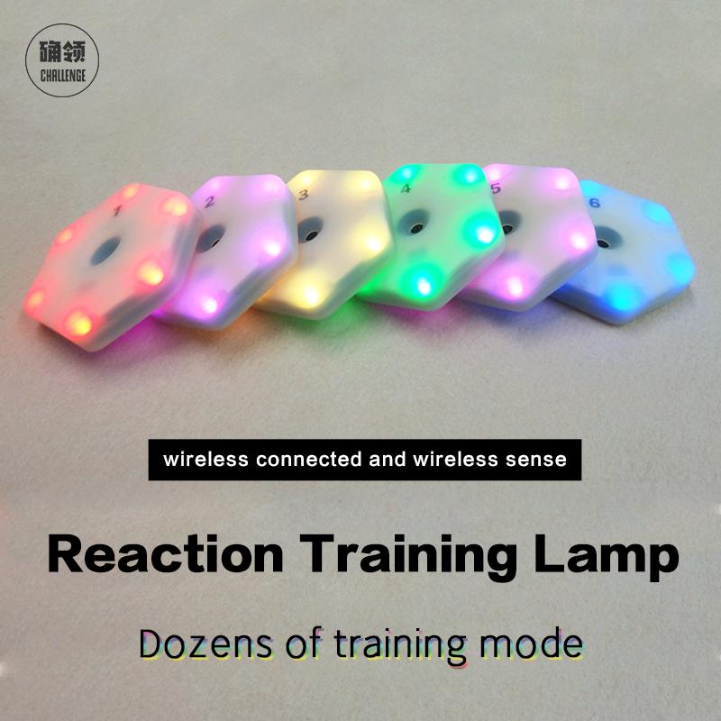 【queling】reaction Training Light 2.0 Lamp Speed Agility Response Equipment Boxing React Sensory  Agile Fitlight Blazepod Siboasi