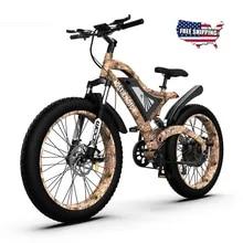 Ebike-S18 Mountain-Bike Lithium-Battery Electric Beach-Cruiser AOSTIRMOTOR 1500W Removable