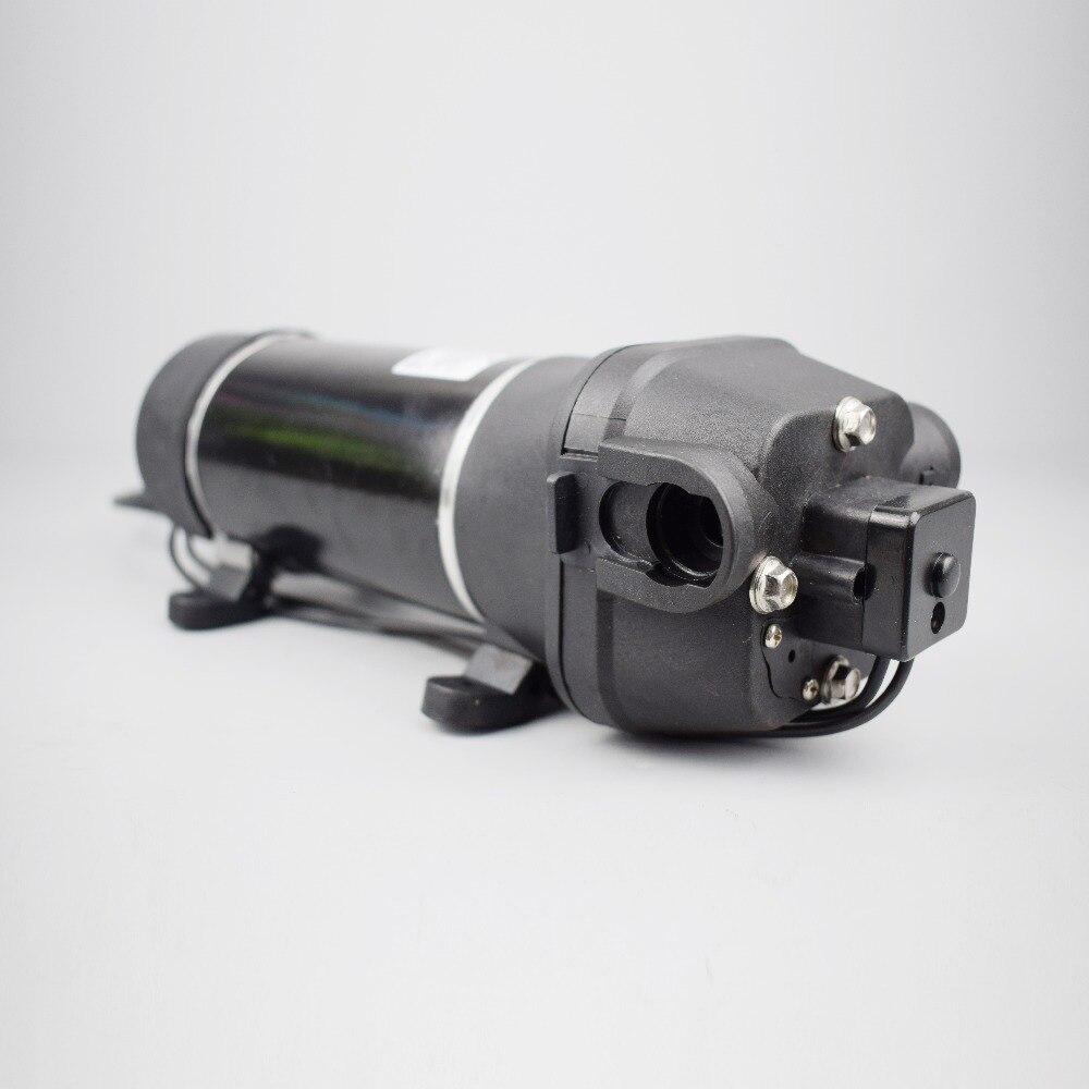 SURFLO KDP-43 AC 110V 115V 120V electric mini self-priming pump high flow 17L/min pressure 40psi cutoff switch for marine and RV