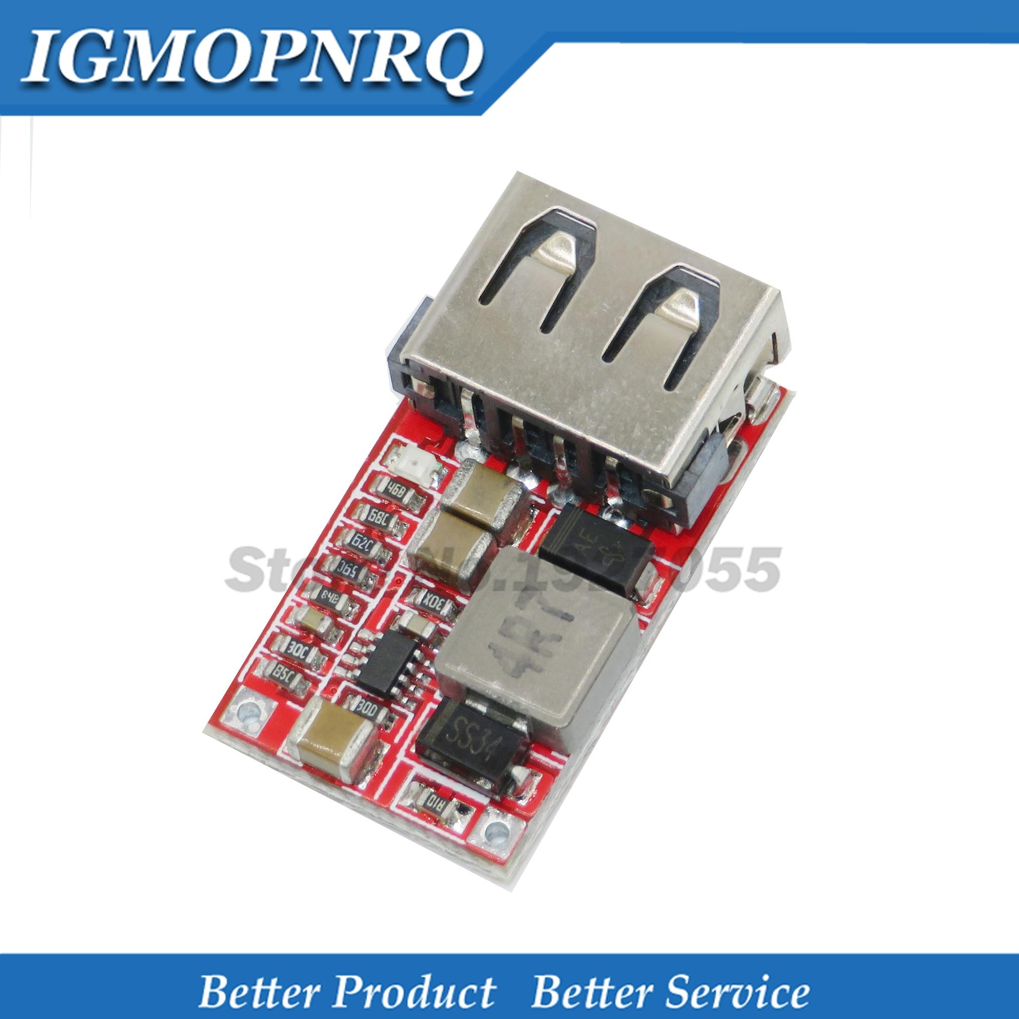 Feine 6-24V 12 V/24 V zu 5V 3A AUTO USB Ladegerät Modul DC Buck step down Converter 12v 5v liefern modul