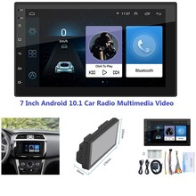 7 Inch Android 10.1 2 Din Car Radio Multimedia Video MP5 Player WIFI GPS Auto Stereo Car Stereo USB FM Radio(China)