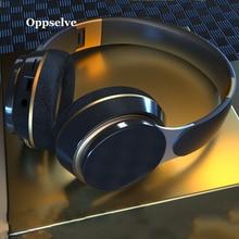 Oppselve 블루투스 헤드폰 액티브 노이즈 취소 무선 헤드셋 접이식 Hifi 딥베이스 이어폰 (PC 용 마이크 포함)