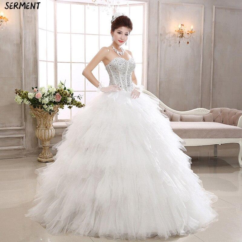 Vestido De Novia Wedding Dress 2019 Long Sleeve Wedding Dress Wedding Gown Dress Elegant Plus Size Wedding Dress in Wedding Dresses from Weddings Events