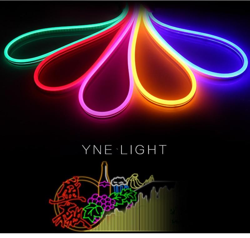 Ha0d527fce3ac415ea3a2ae1a32808421w - DC 12V RGB LED Strip Light Neon Light Waterproof SMD 2835 Flexible Ribbon Fita Strip Lamp 1/2/3/4/5 Meter Tape Home Decoration