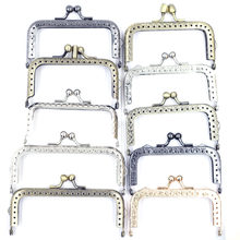 17 style Kiss blokada zapięcia głowica kulowa ramka prostokątna metalowa torebka Clutch Bag torebka Accessorise 8.5-15.5cm