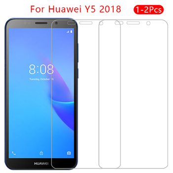 case for huawei y5 lite prime 2018 cover tempered glass screen protector on y 5 5y light y52018 y5lite protective phone coque 9h image