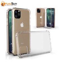 For iPhone 11 XIR 2019  phone Case Shock-resistant Crystal Transparent soft Phone case