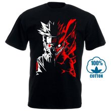 Men'S Sennin Modo Naruto T Shirt Fashion Short Sleeve O Neck Tops Tees Men Summer Comfortable All Cotton T Shirt 012712(China)
