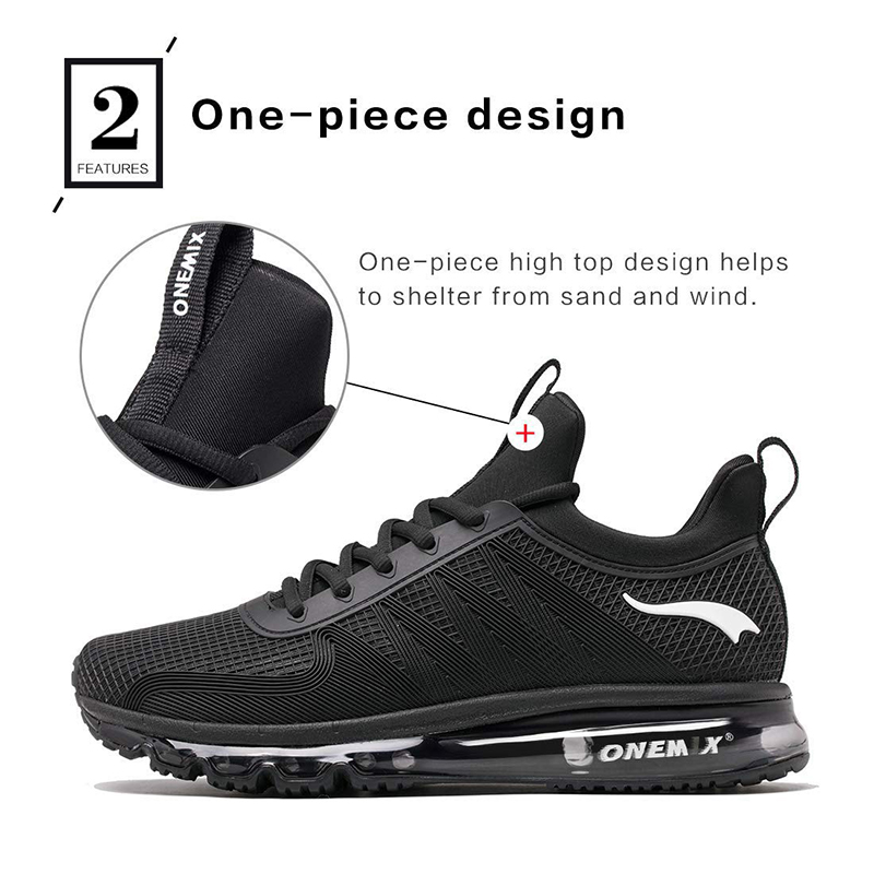 Image 4 - ONEMIX Men Runing shoes Winter KPU Mesh Air Sole Outdoor Casual  Outdoor Jogging Air Cushioning Gym Fitness Sneakers Max 12free shipping  running shoesrunning shoesrunning shoes free shipping