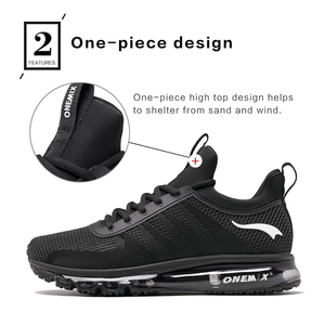 Image 4 - ONEMIX Men Runing shoes Winter KPU Mesh Air Sole Outdoor Casual Outdoor Jogging Air Cushioning Gym Fitness Sneakers Max 12