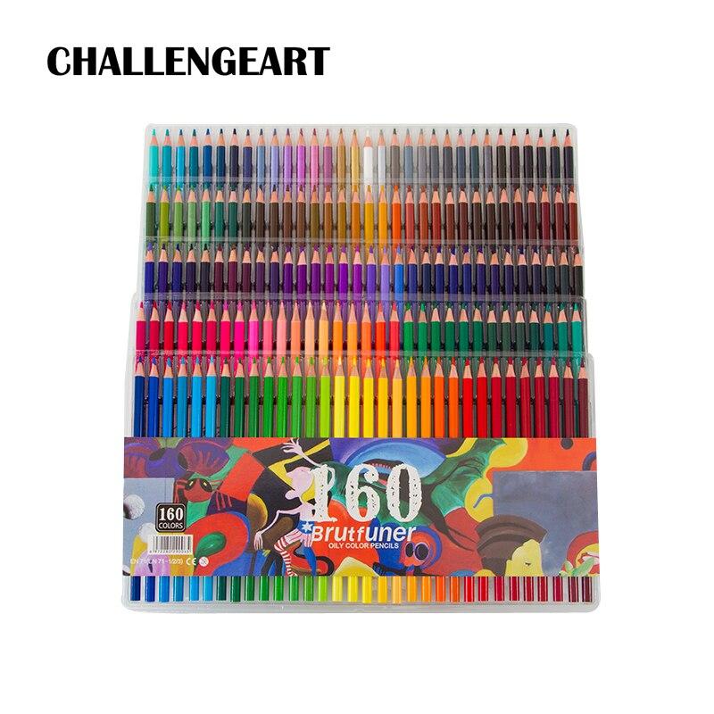 48 72 120 160 180 Color Pencil Artist Sketch Drawing Painting Oil Wood Colored Pencils For School Art Supplies Lapis De Cor