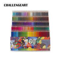 48 72 120 160 180 lápiz de color dibujo de artista dibujo pintura óleo madera colores lápices para el colegio suministros de arte lapisde de CO