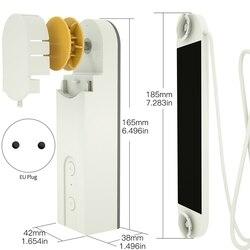 DIY Smart Motorisierte Kette Rollos Schatten Shutter Stick Motor Angetrieben Durch Solar Panel und Ladegerät Bluetooth APP Control (EU Pl
