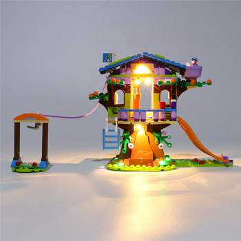 USB Powered Building Blocks LED Lighting Kit For Mia'S Tree House 41335 (LED Included Only, No Kit)For Children Educational Toys